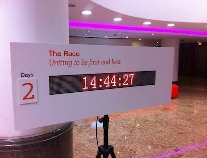 LED Countdown Clocks