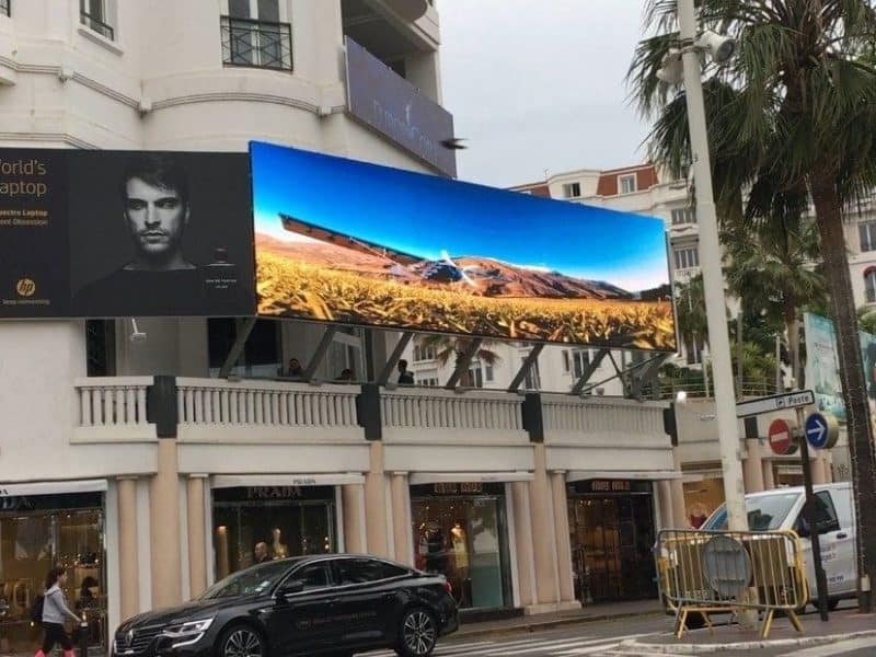 Led Billlboard in Cannes