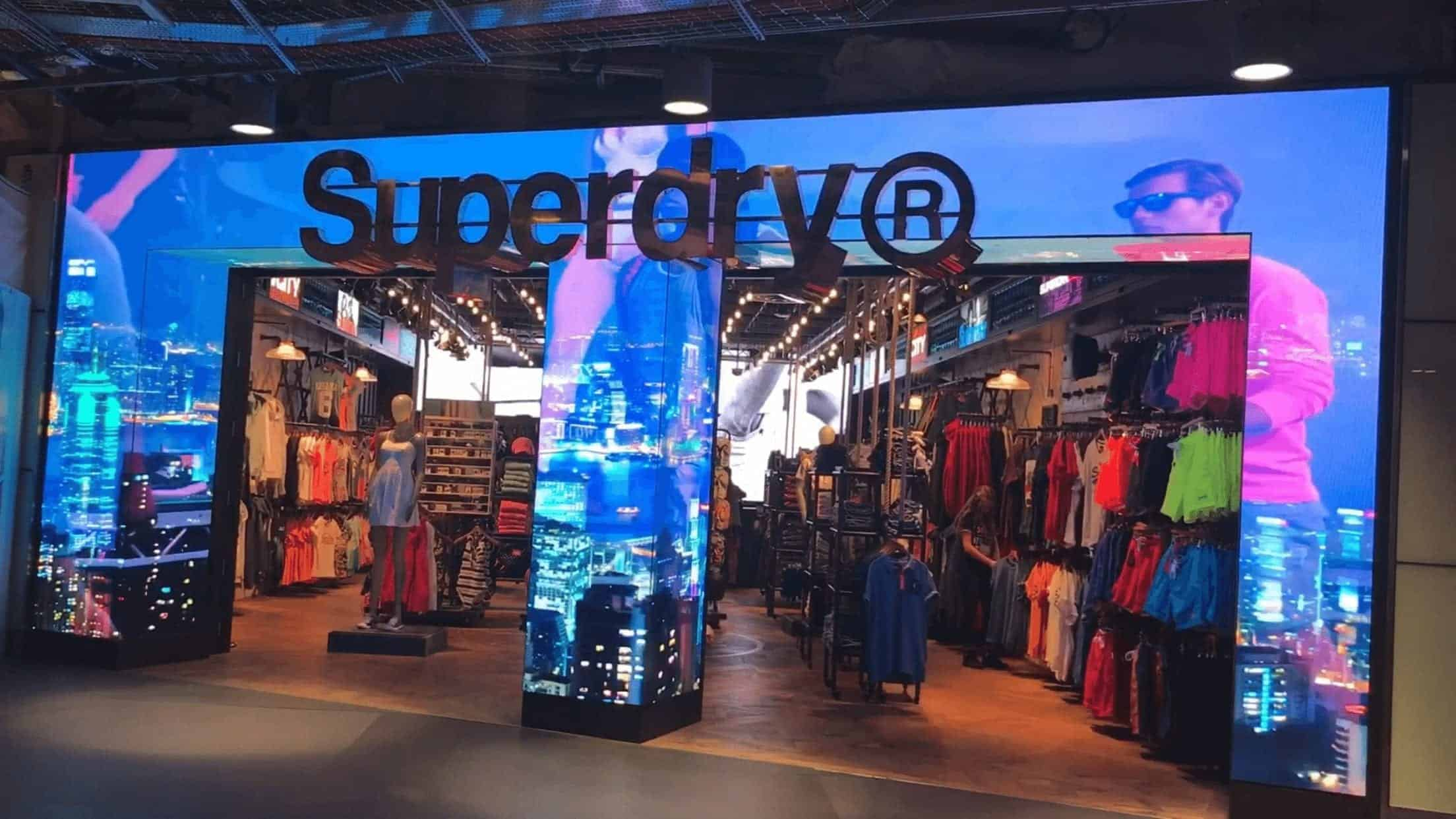Superdry LED Screen