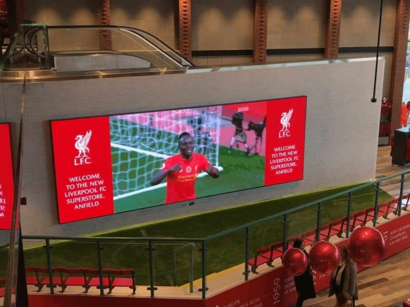 liverpool LCD video wall 1