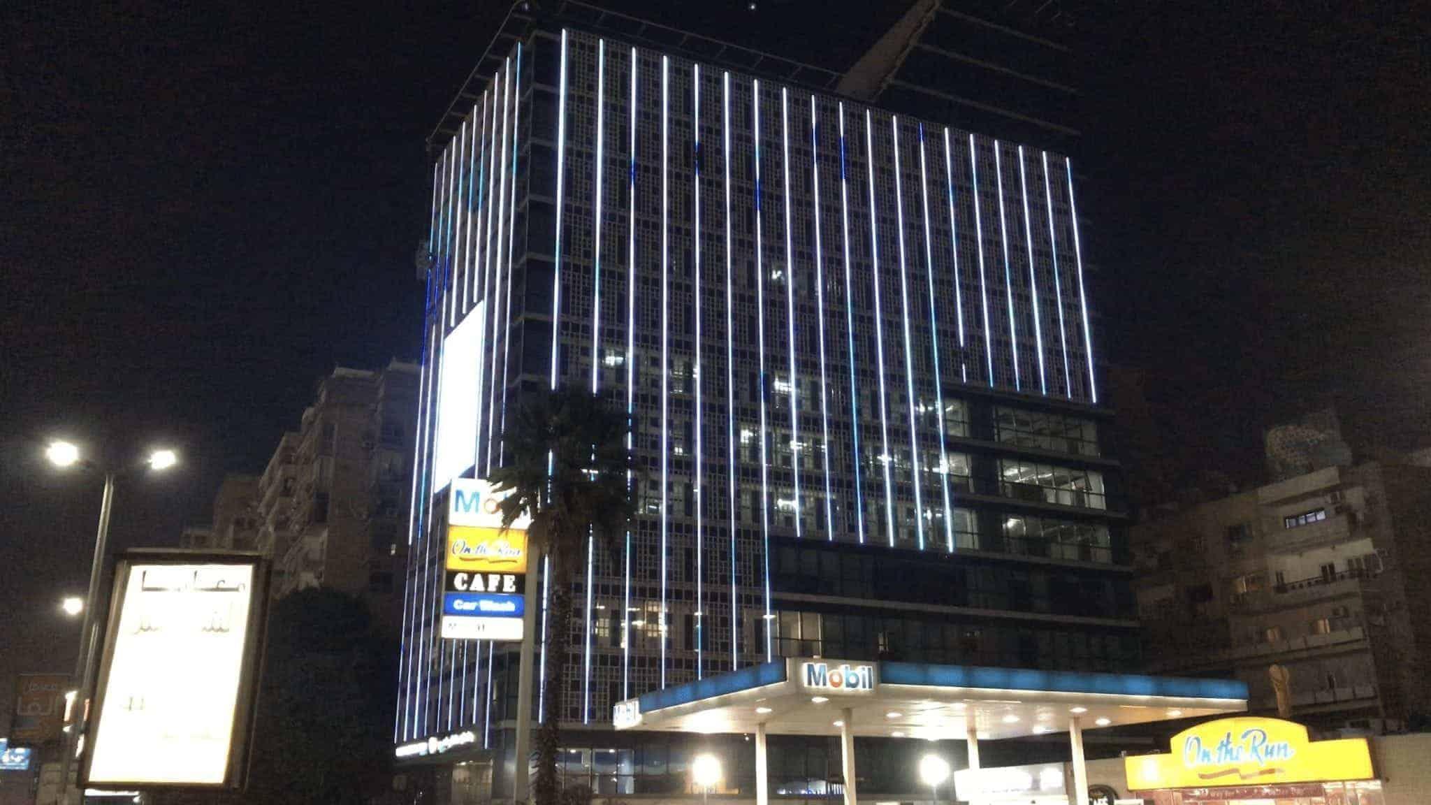 LED Building Facade Cairo