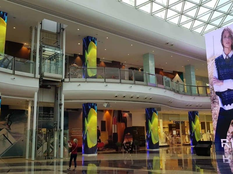 DYNAMO LED DISPLAYS GIGANTIC LED SCREENS AT MUSCAT GRAND MALL