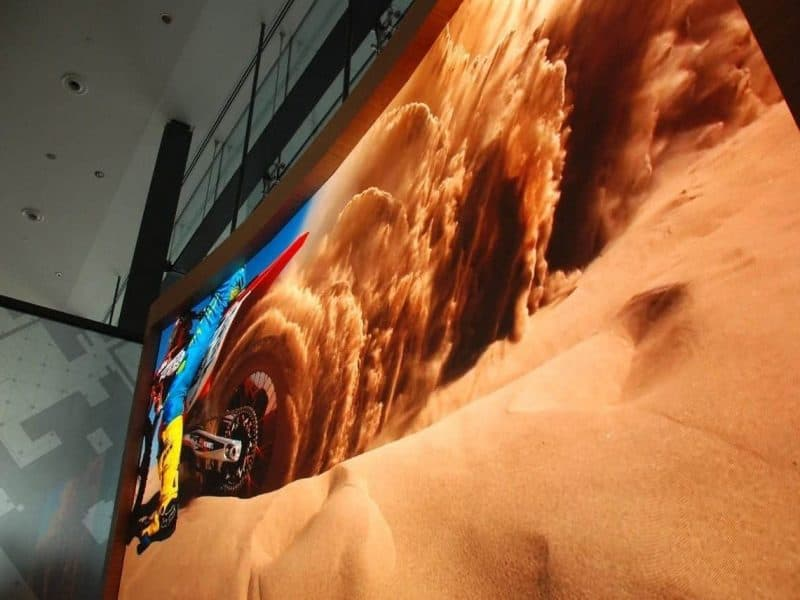 P1.5MM LED SCREEN AT ABU DHABI MARKETING SUITE