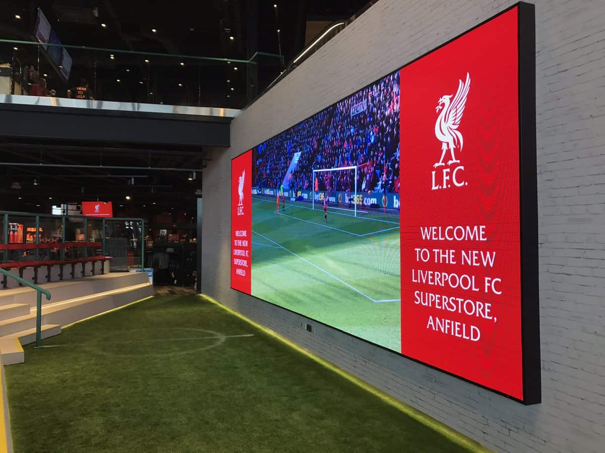 liverpool fc led screen