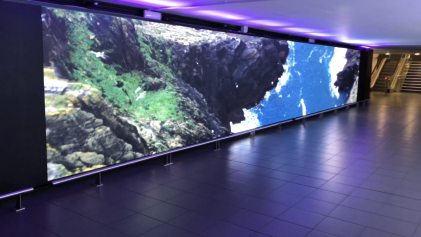 p2.5mm led wall Dublin