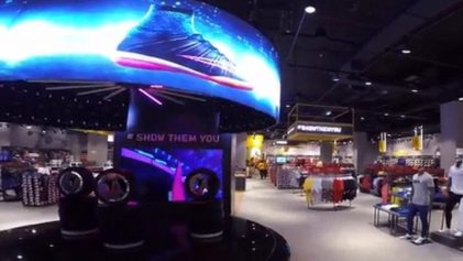 curved led display