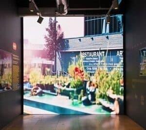 LED Reception Displays