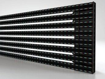 Transparent LED Facade Display - Transbar P16