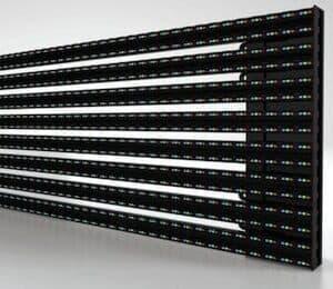 Transparent LED Facade Display - Transbar P10