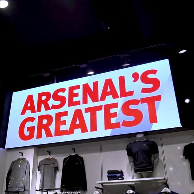 arsenal led sign
