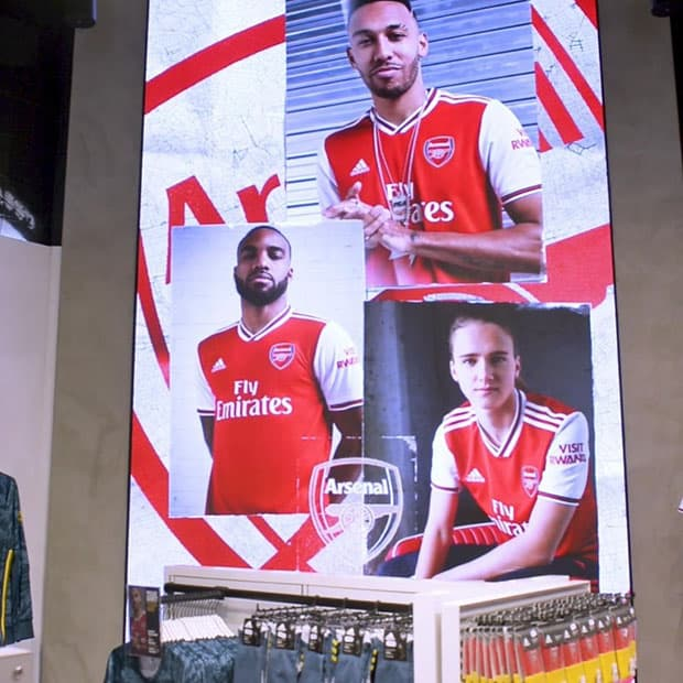 Dynamo LED displays arsenal