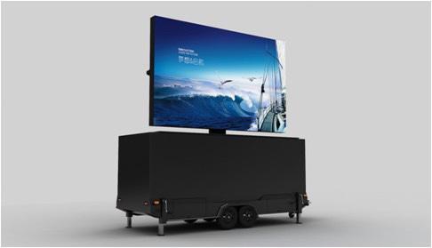 Mobile LED Screen Truck